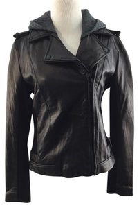 DKNY Leather Leather Jacket