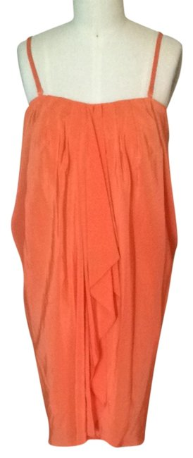 BCBGMAXAZRIA short dress Orange on Tradesy