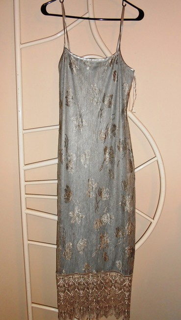 Sue Wong Vintage Embellished Lace Gown Dress