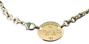 Tiffany & Co. Authentic Estate Tiffany & Co. 18K Yellow Gold Return to Tiffany Necklace