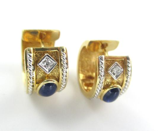 Other 14KT YELLOW GOLD EARRINGS HUGGIES