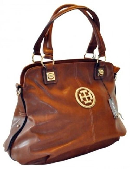 Item - Large New. Brown Faux Leather Tote