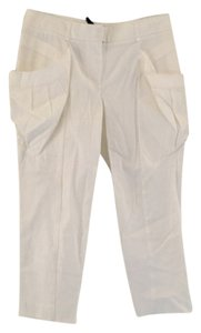BCBGMAXAZRIA Capri/Cropped Pants White