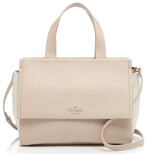Preload https://img-static.tradesy.com/item/11134066/kate-spade-bromley-street-adela-top-handle-satchel-biscotti-canvas-pebbled-leather-shoulder-bag-0-2-540-540.jpg