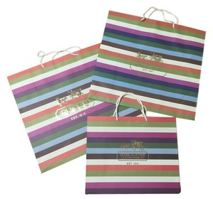 Coach Set of 3 gift bags