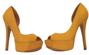 Steven by Steve Madden Yellow Platforms