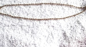 Artistry Yellow Gold Filled Rope Necklace 1/20 12K