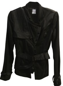 sass & bide Belted Military Wool Style Military Jacket