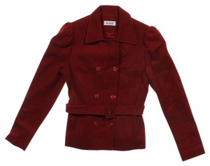 O'2nd Belted Red Blazer