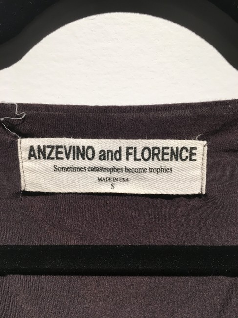 Anzevino and Florence Top Black