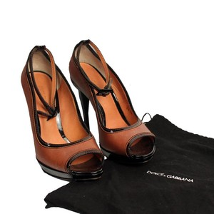 Dolce&Gabbana Dolce And Gabbana Heels Cognac Brown Pumps