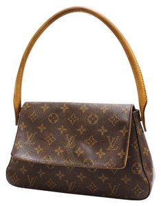 Louis Vuitton Mini Looping Monogram Handbag Shoulder Bag