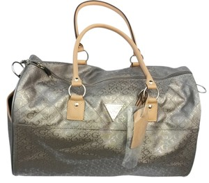 Guess Pewter / Silver Travel Bag