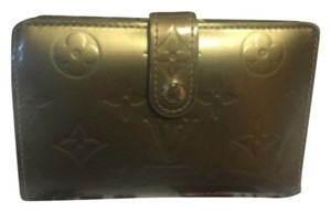 Louis Vuitton French Wallet in Cernis Gris