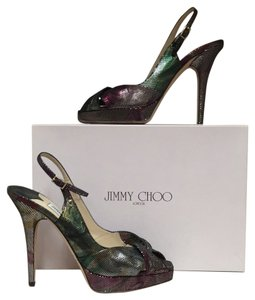 Jimmy Choo Multicolor Pumps