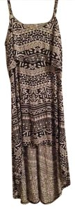 Black/White Tribal Maxi Dress by Kirra