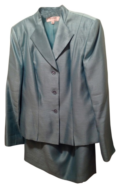 Preload https://img-static.tradesy.com/item/11137186/suit-studio-light-blue-skirt-suit-size-10-m-0-2-650-650.jpg