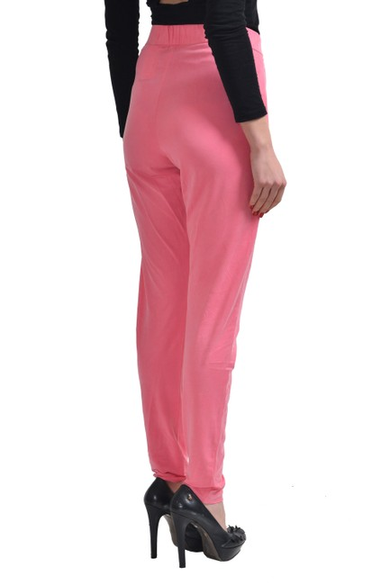 Hugo Boss Straight Pants Pink