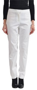 Hugo Boss Straight Pants White