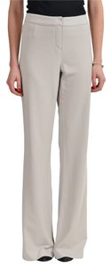 Gianfranco Ferre Straight Pants Ivory