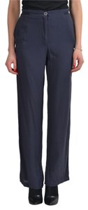 MM6 Maison Martin Margiela Straight Pants Navy