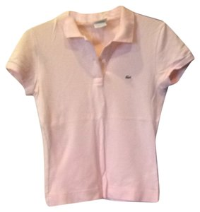 Lacoste Button Down Shirt Pink