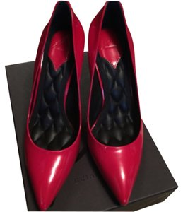 Brian Atwood Red patent Pumps