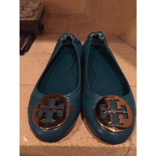Tory Burch turquoise Flats