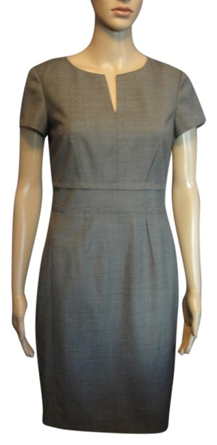 Preload https://img-static.tradesy.com/item/11138734/ann-taylor-light-brown-short-sleeves-knee-length-workoffice-dress-size-0-xs-0-2-650-650.jpg
