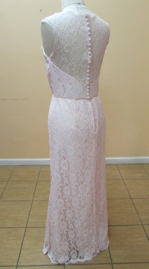 Alfred Angelo Ballerina Lace 537 Modern Bridesmaid/Mob Dress Size 14 (L)