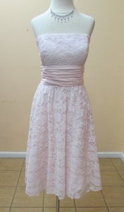 Alfred Angelo Ballerina Lace 540 Modern Bridesmaid/Mob Dress Size 6 (S)