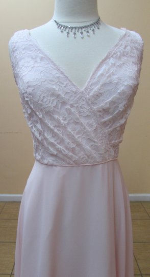 Alfred Angelo Ballerina Lace 542 Modern Bridesmaid/Mob Dress Size 16 (XL, Plus 0x)
