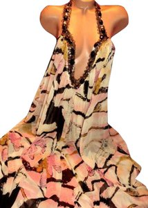 Multi-Color Maxi Dress by Victoria's Secret Ell & Cee Gown Gwon