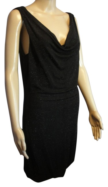 Preload https://img-static.tradesy.com/item/11139193/ax-armani-exchange-black-sparkl-knee-length-cocktail-dress-size-6-s-0-2-650-650.jpg