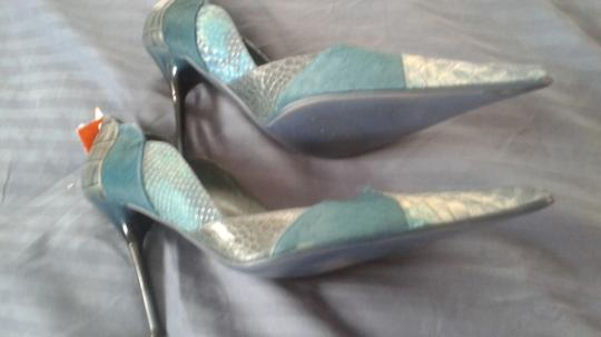 Other green suede snakeskin Pumps