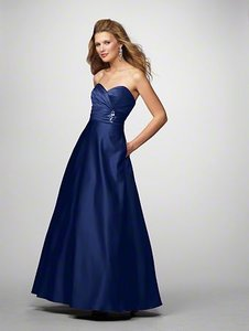 Alfred Angelo Navy Style 7166 Dress