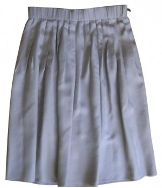 Preload https://item5.tradesy.com/images/lanvin-silver-knee-length-skirt-size-6-s-28-1114-0-0.jpg?width=400&height=650