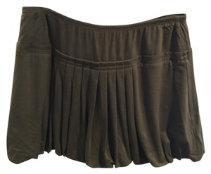 BCBGMAXAZRIA Mini Skirt Green