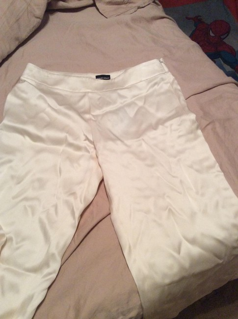 Giorgio Armani Relaxed Pants Ivory