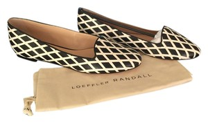 Loeffler Randall Black and White Flats