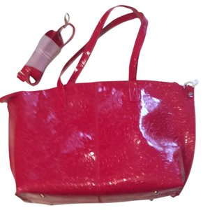 Gabaangs Tote in Candy apple Red