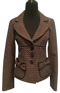 Nanette Lepore Brown and black Blazer
