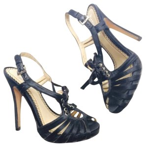 bebe Size 6 Heels Heels Black Pumps