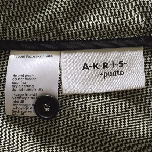 Akris Straight Pants black and white