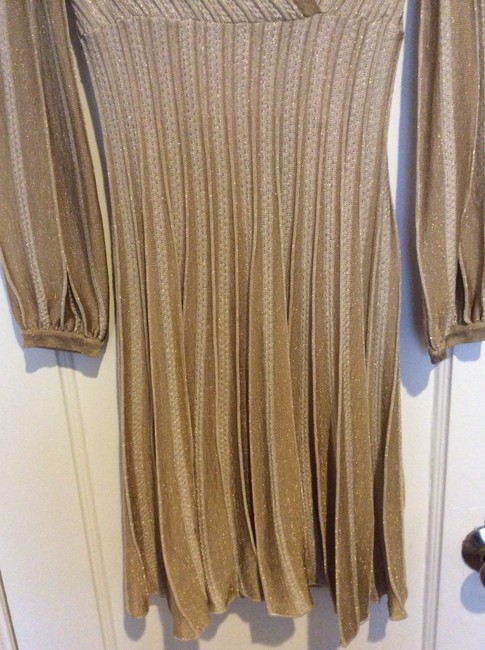 Missoni Flare Ombre Longsleeve Kneelength Dress