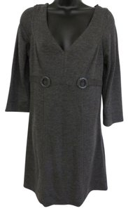 Max Studio short dress Charcoal Grey on Tradesy