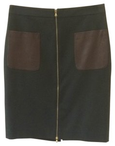 Club Monaco Skirt Hunter Green