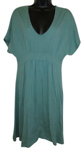 Garnet Hill short dress Green on Tradesy