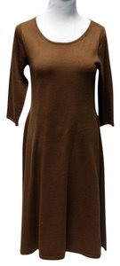 TAN/GOLD Maxi Dress by Eileen Fisher Sweater
