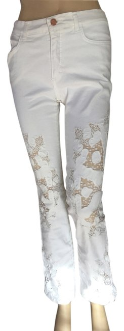 Preload https://img-static.tradesy.com/item/11142214/roberto-cavalli-white-coated-laced-front-straight-leg-jeans-size-28-4-s-0-3-650-650.jpg